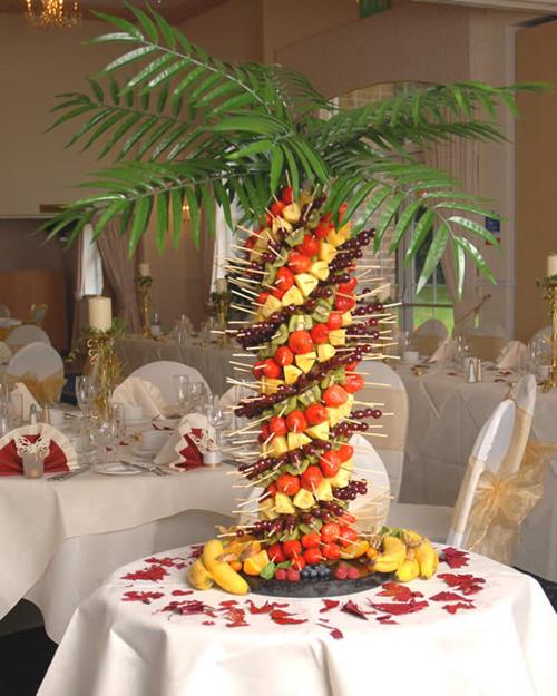 Фруктовая пальма своими руками фото